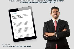 "Advogado transmontando nomeado ""Lawyer of the Year"" pelo Diretório Americano Best Lawyers"