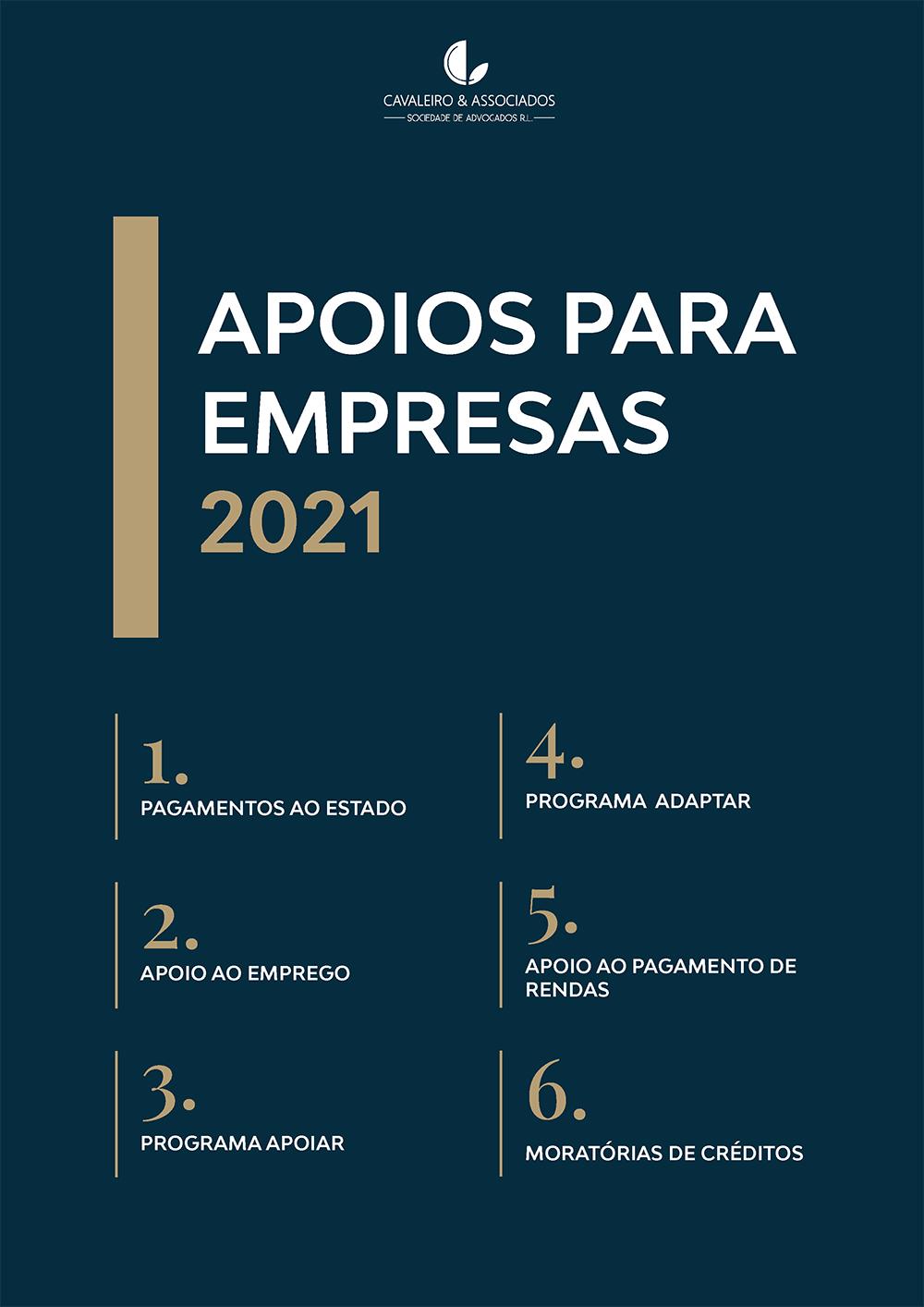 Apoio às empresas 2021
