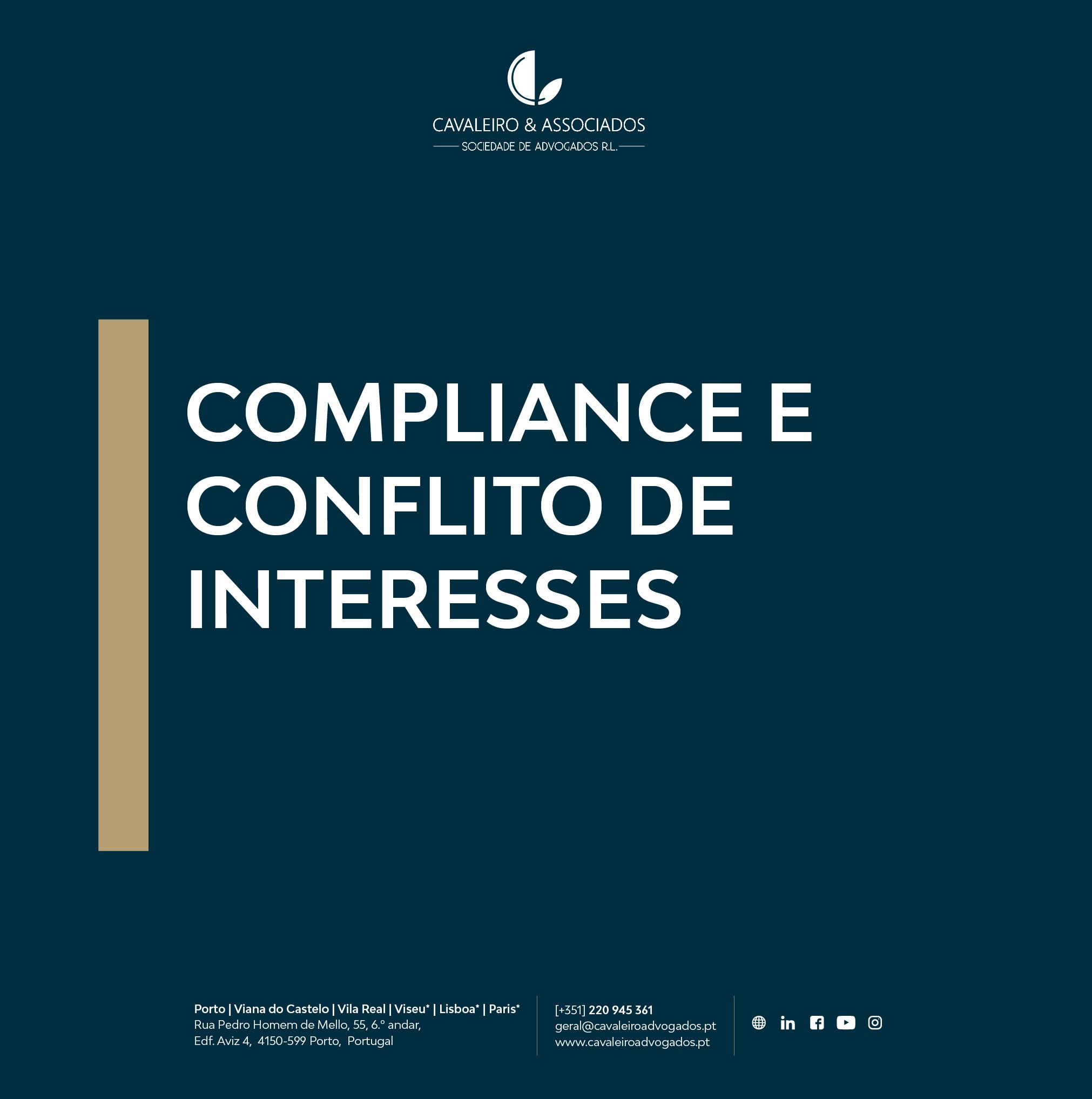 COMPLIANCE E CONFLITO DE INTERESSES