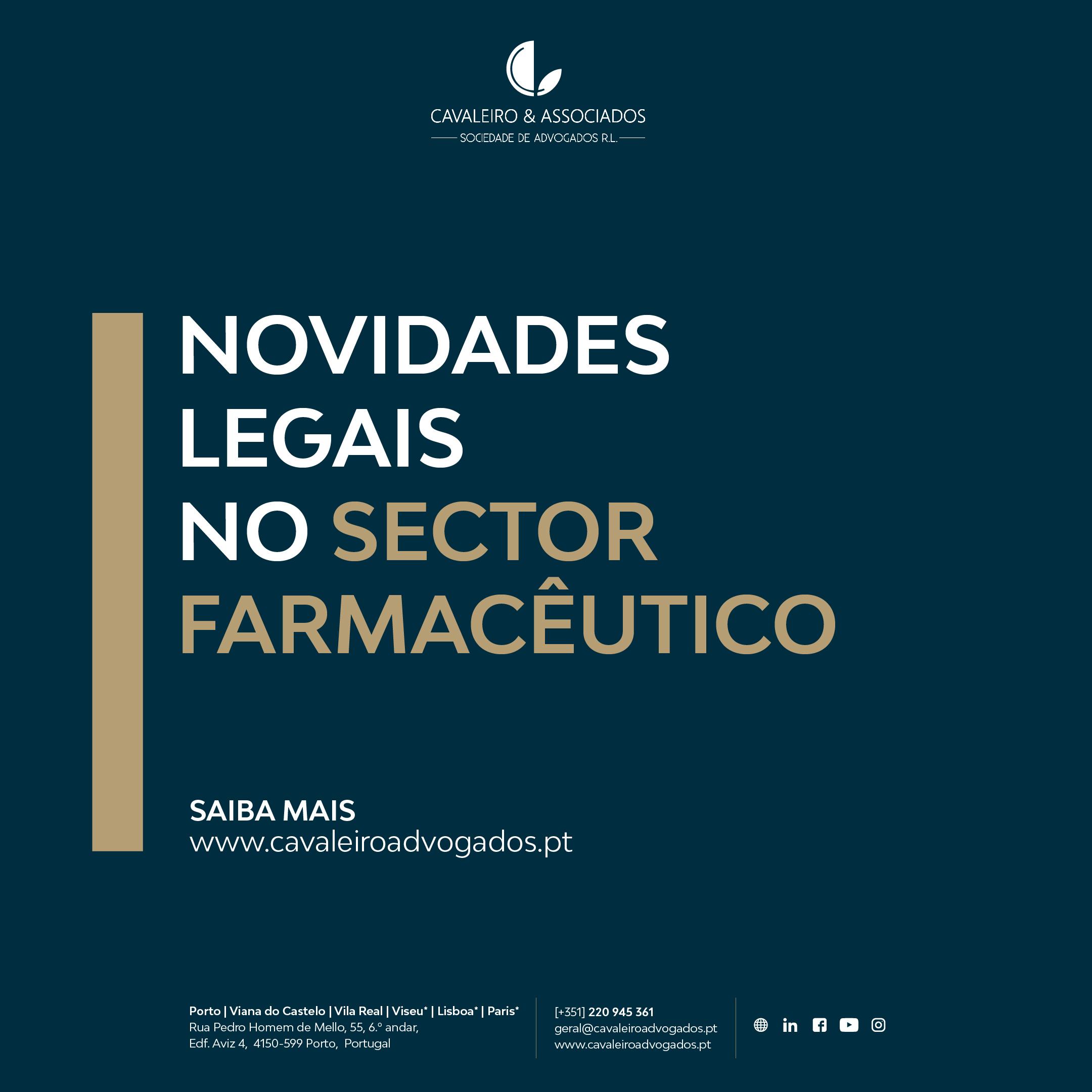 Novidades legais no setor farmacêutico