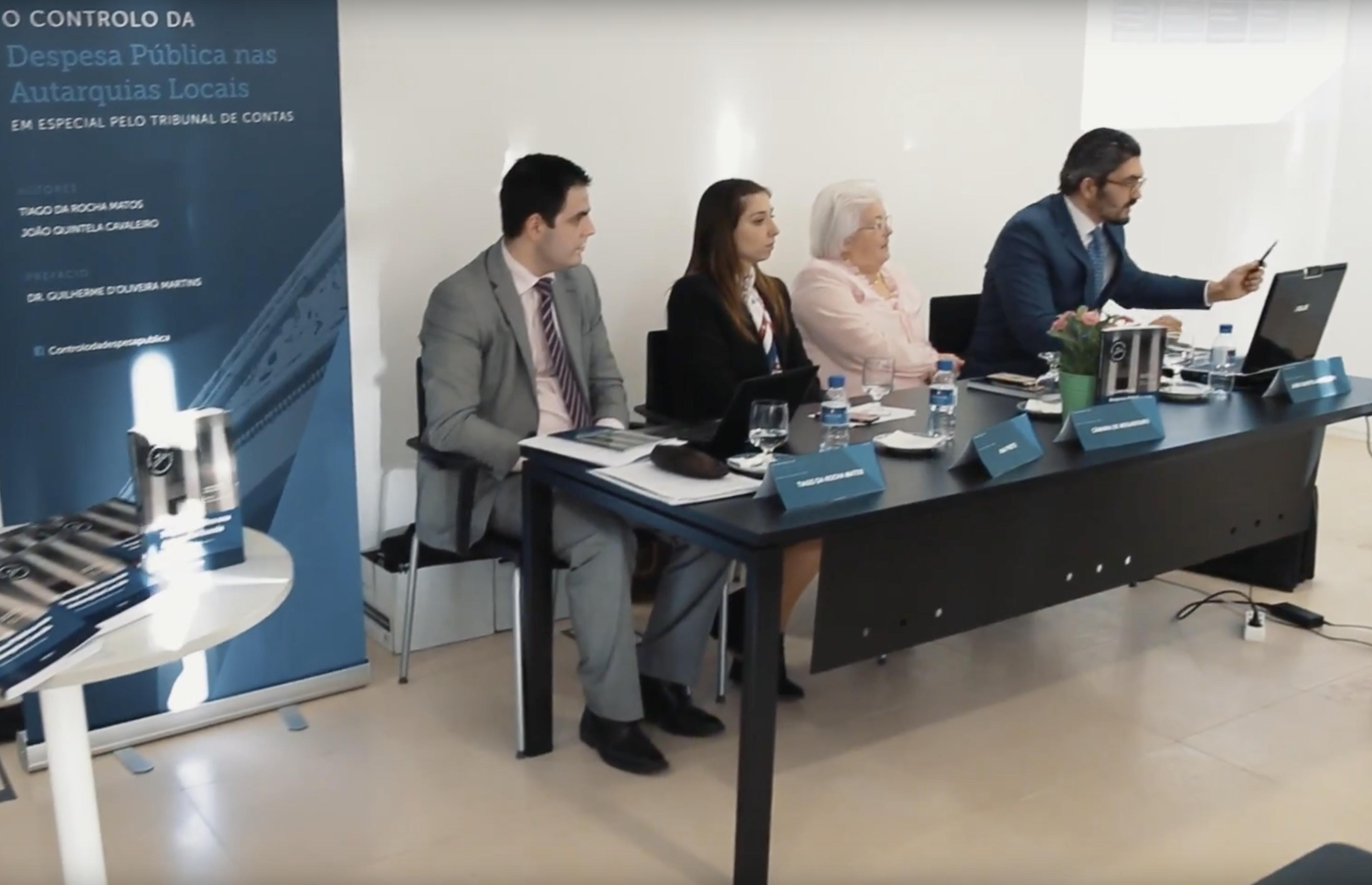 João Cavaleiro, Tiago Matos, Ana Preto e Pedro Seixas em Debate pelo Nordeste