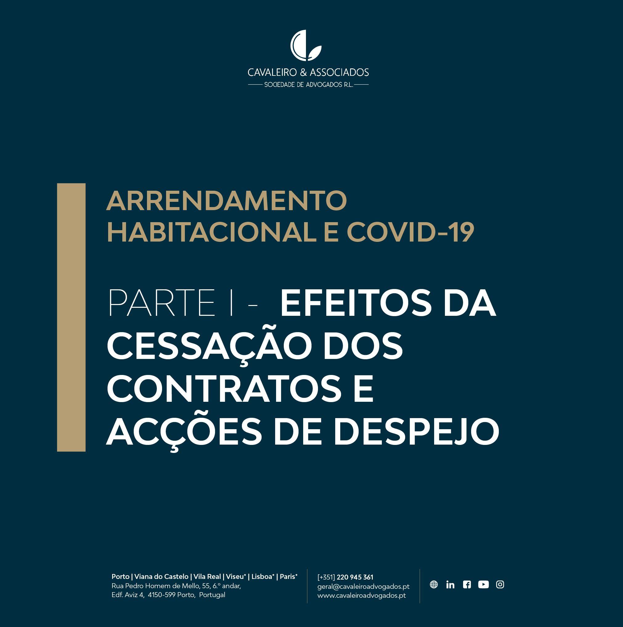ARRENDAMENTO HABITACIONAL E COVID-19 PARTE 1