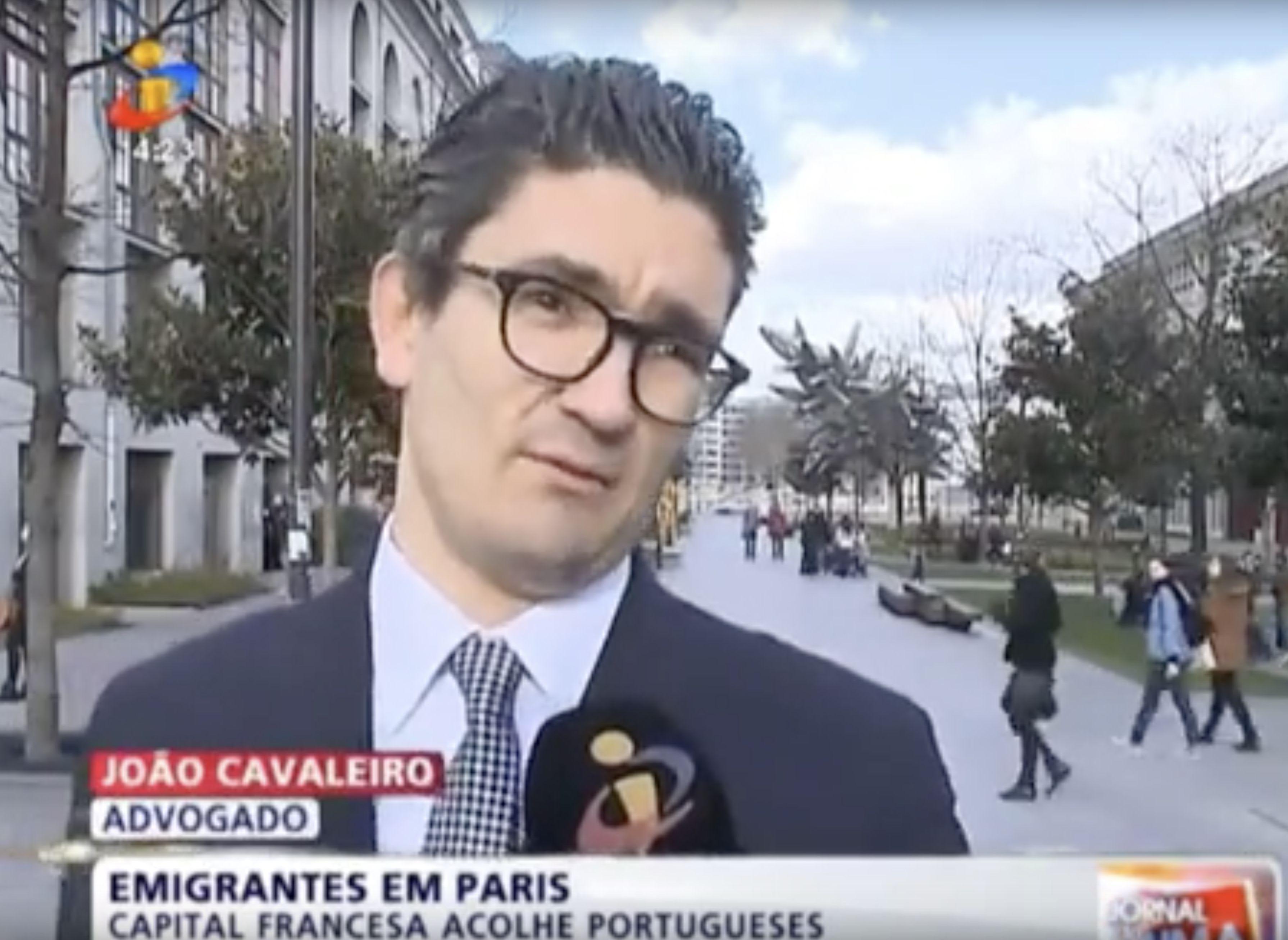 TVI destaca Cavaleiro & Associados em Paris