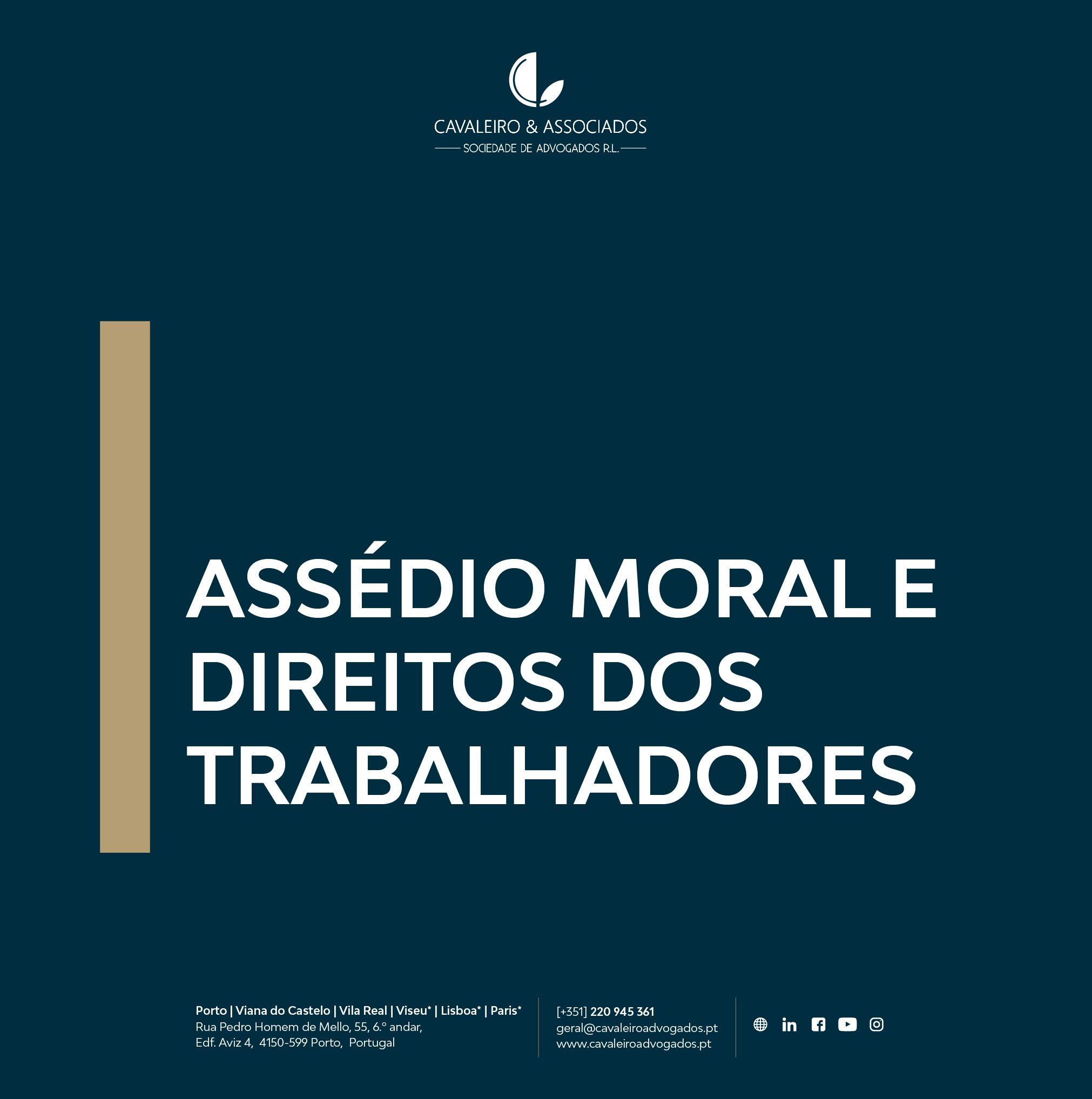 ASSÉDIO MORAL E DIREITOS DOS TRABALHADORES