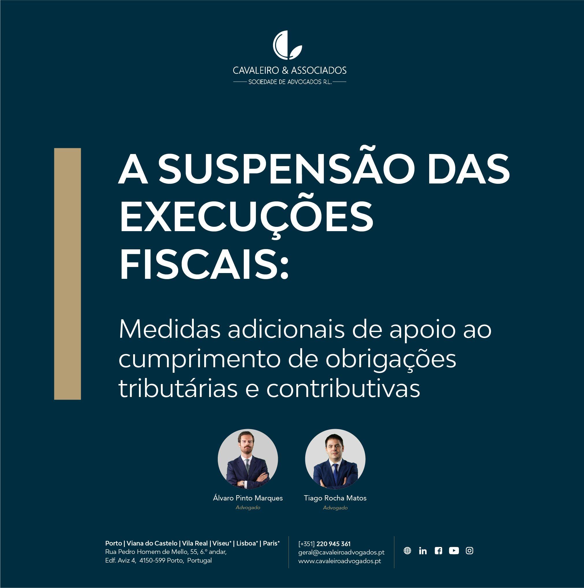A suspensão das execuções fiscais