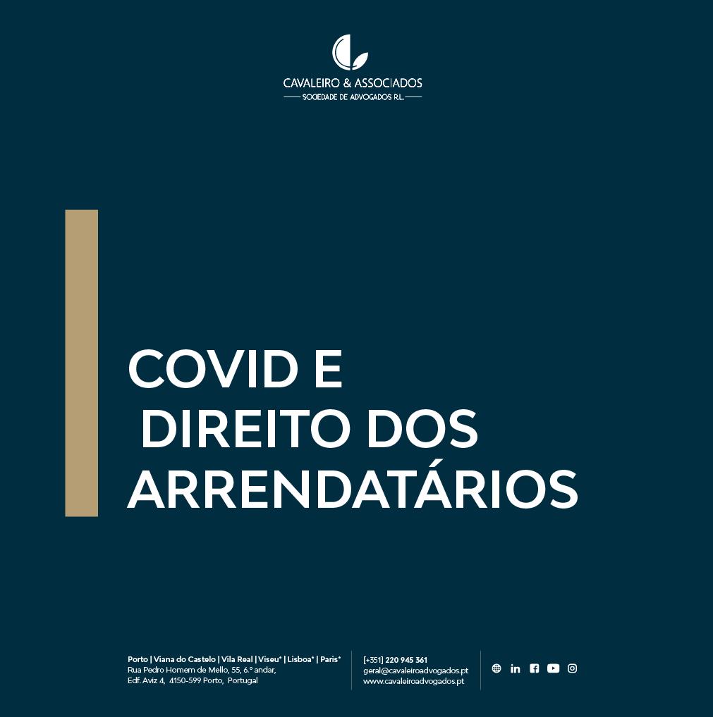 COVID E DIREITO DOS ARRENDATÁRIOS